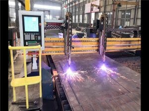 cnc gantry flame & plasma cutting machine