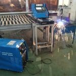 1500 * 2500mm flame, plasma cnc cutting machine